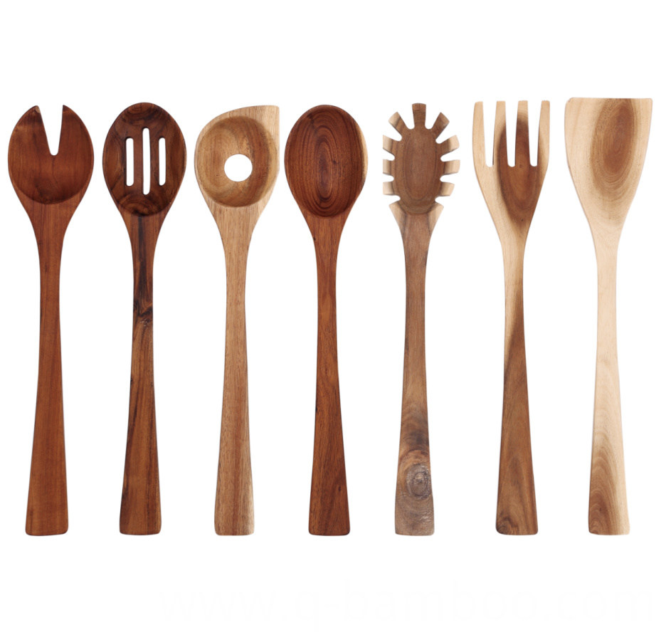 Acacia Wood Kitchen Utensil