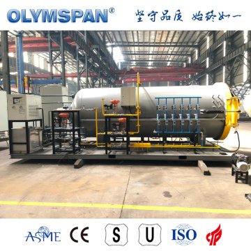 ASME standard composite part treatment autoclave
