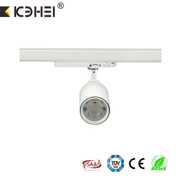 25W commercial 6000K 3wire LED adjustable tracklight
