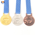 Custom 1st 2nd 3rd gold silver bronze medals