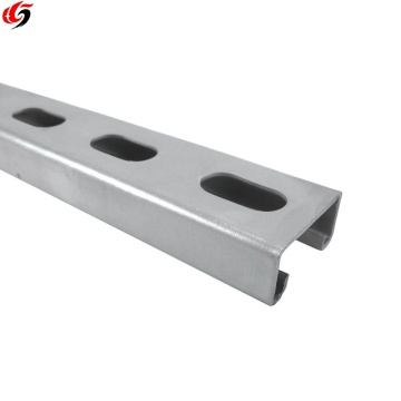 metal slotted channel size 41*41*2