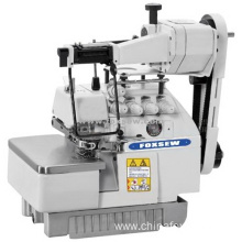 Elastic and Lace Attaching Overlock Sewing Machine
