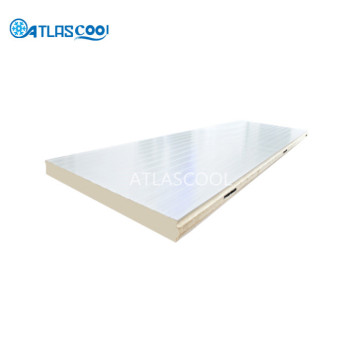 Insulated sandwich panel for cold storage room