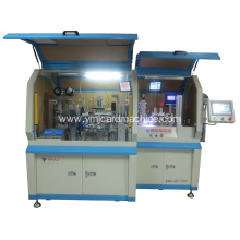 Dual Interface Card Chip Embedding and Bonding Machine