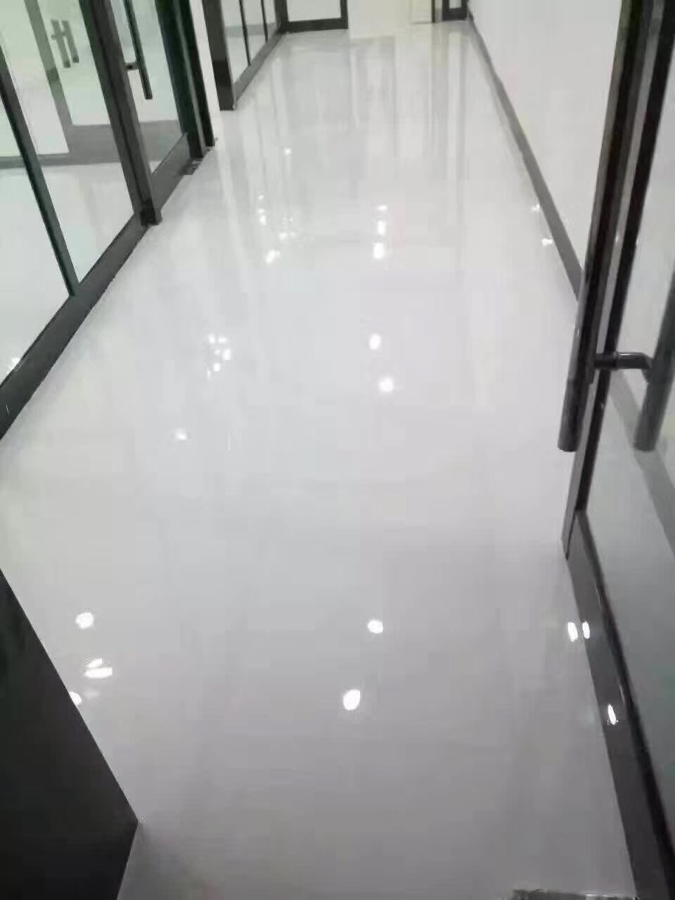 Highly Integrated Dust Free Epoxy Floor Paint