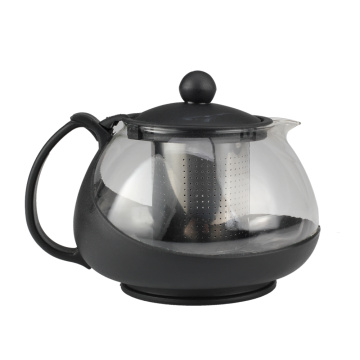 Remove Design Glass Tea Pot