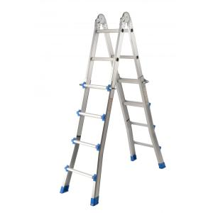 FOLDABLE ALUMINUM JOINT LADDER