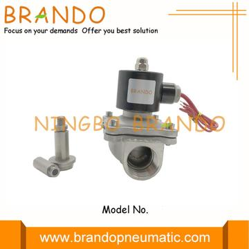 2S250-25 Electric Solenoid Valve for water gas