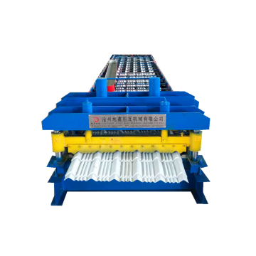 glazed cold steel roofing sheet roll forming machinery