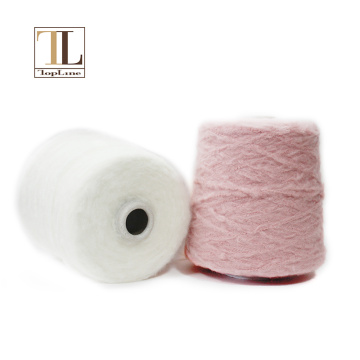 Mercerized  wool  cashmere polyamide fancy yarn