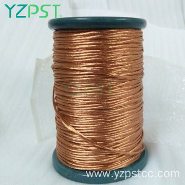 Cca copper aluminum enameled magnet winding litz wire