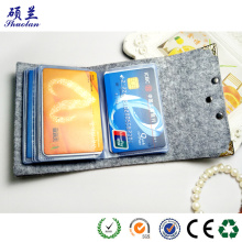 Customized for China Felt Card Bag,Handmade Felt Card Bag,Colorful Felt Card Bag,Felt Card Bag With Zipper Factory Hot sale felt card holder bag organizer export to United States Wholesale