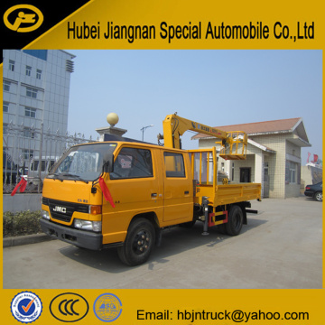 JMC 2 Ton Lorry Crane Truck For Sale