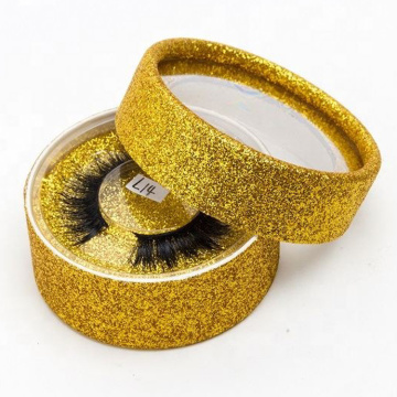 Wholesale Gold Mink Eyelash Extension Box Packing