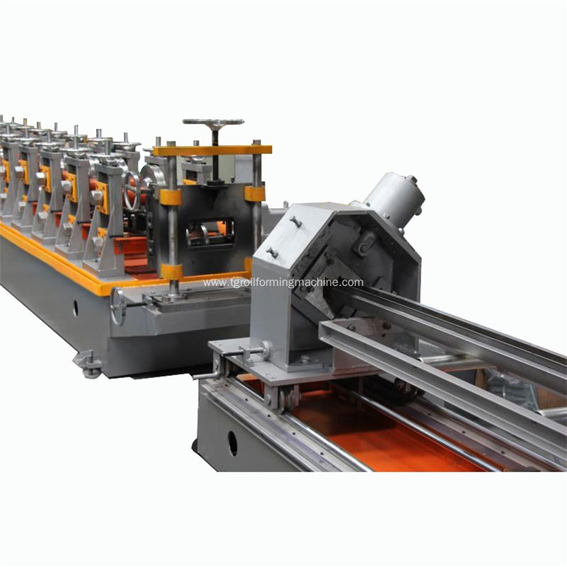 Storage Rack Shelf Upright Roll Forming Machine