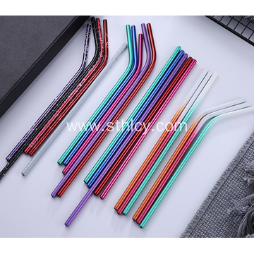 304 Fashion Stainless Steel Light Quality Straws