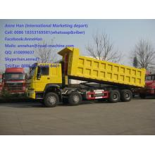 Customized for Construction Dump Truck Dump truck SINOTRUK HOWO 371HP 12 Wheels LHD supply to Zimbabwe Factories