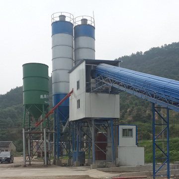 Advanced ready mixed concrete batching plant 90m3/h machine