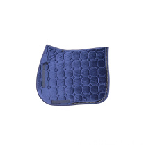 High quality velvet cloth bling crystal saddle pad
