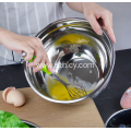 Silica Gel Metal Stainless Steel Mixing Bowl