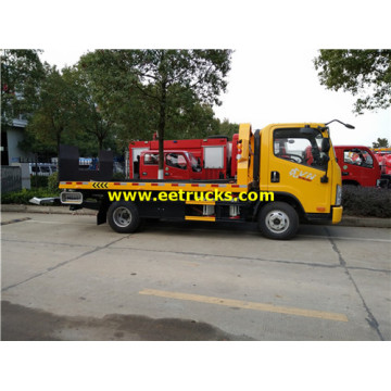 FAW 3ton Flatbed Wrecker Trucks