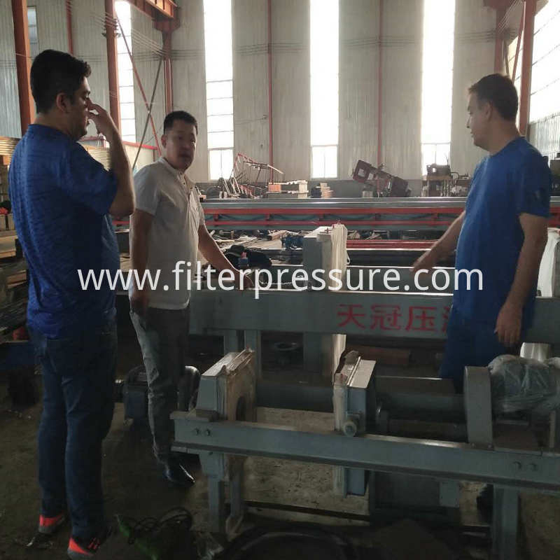 Iran Customer For Filter Press