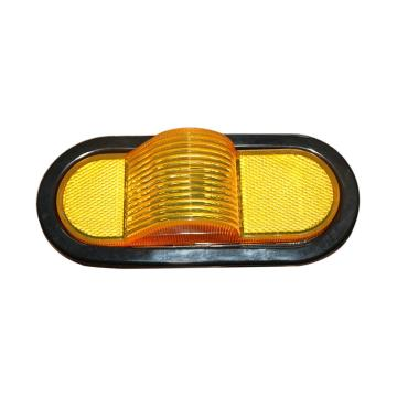 "6"" Oval DOT Amber Truck Side Marker Lighting"