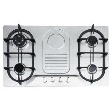 4 Burner Gas Hob with Pulse Ignition