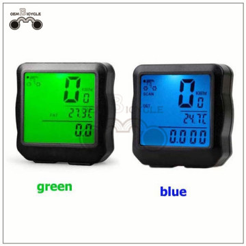 waterproof wired bike computer bicycle speedometer cycle odometer for sale
