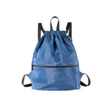 Washable Kraft Drawstring Paper Backpack Bag