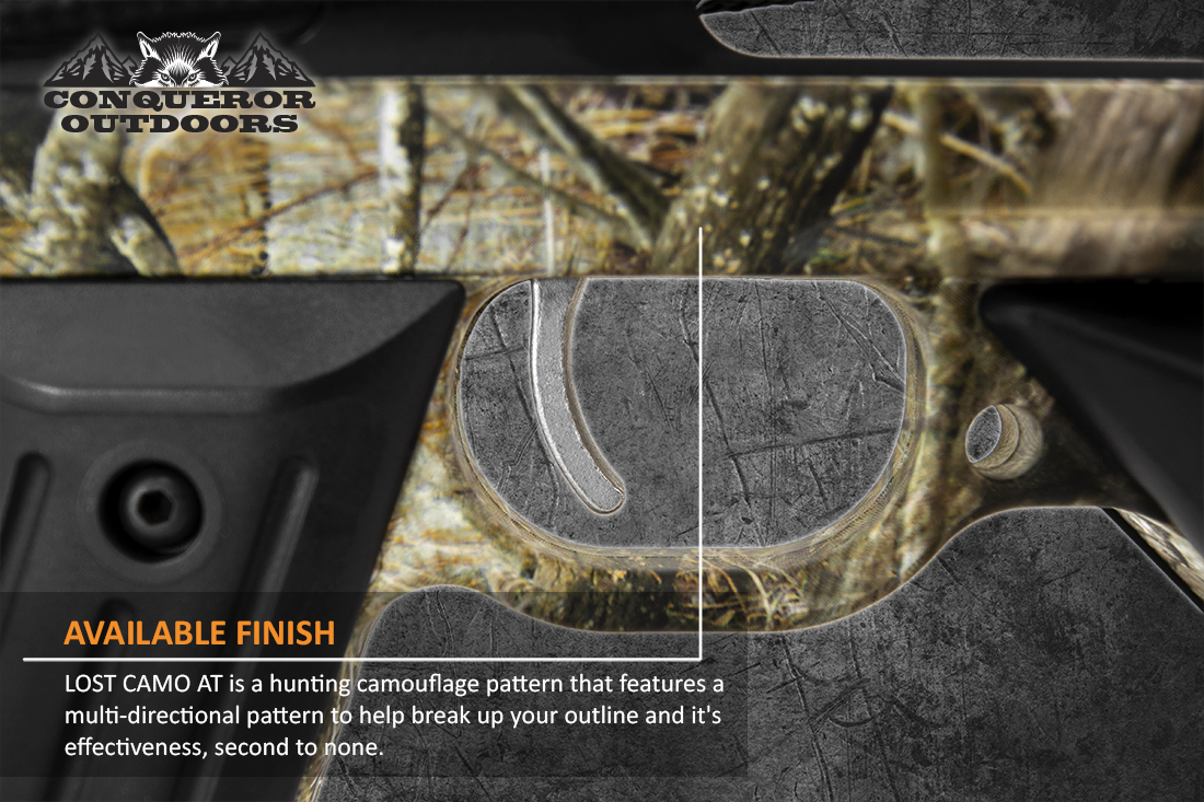 Mission Crossbow Sniper Lite Trigger Detail with Text