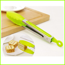 Stainless Steel High Quality Silicone Serving Grill Tongs