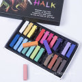 Non-Toxic Washable Temporary Hair Chalk for Party Cosplay
