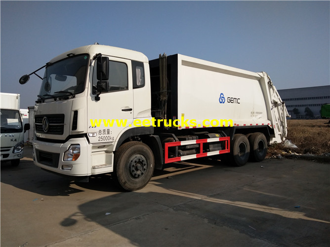 6x4 Compressed Rubbish Trucks