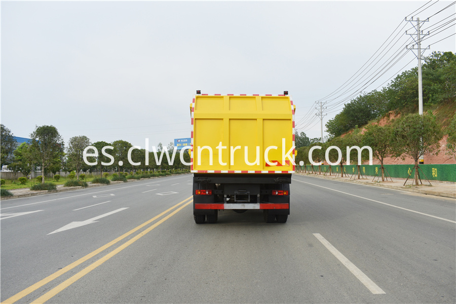 municipal solid waste collection truck factory