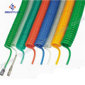 Trailer air brake hose PA nylon coil hose