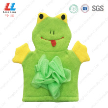 Animal frog bathing children gloves