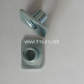 Carbon steel zinc plated weld nut