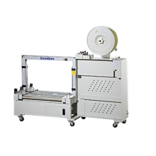 Automatic carton strapper