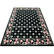 Hand Hooked Carpet With Polyester