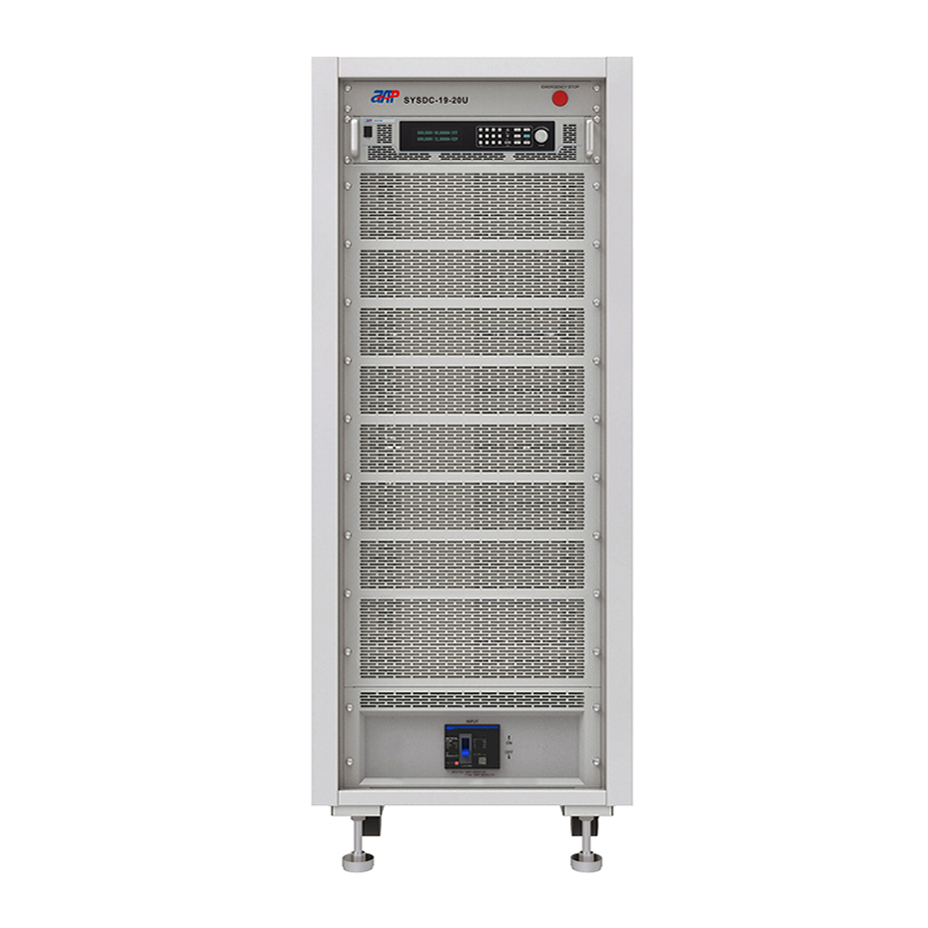 High power high voltage dc source system 36kW