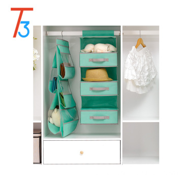 6 shelf hanging closet organizer
