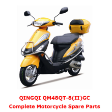 QINGQI QM48QT-8 II GC Complete Motorcycle Spare Parts