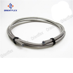 PTFE hose braided with stainless steel r14