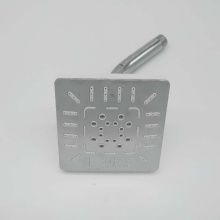 Plastic ABS Square Rainfall Shower Head