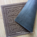 Wholesale cheap embossed non slip doormat rugs