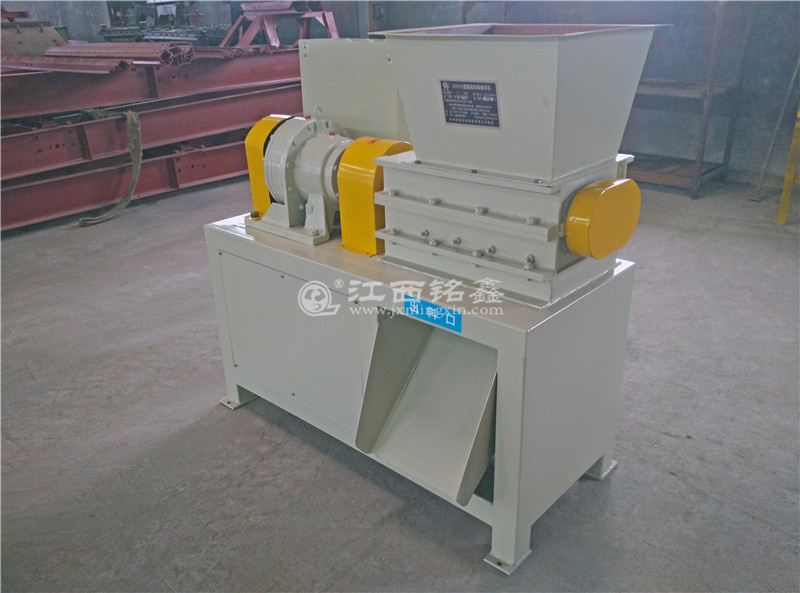 2 shaft shredder machine