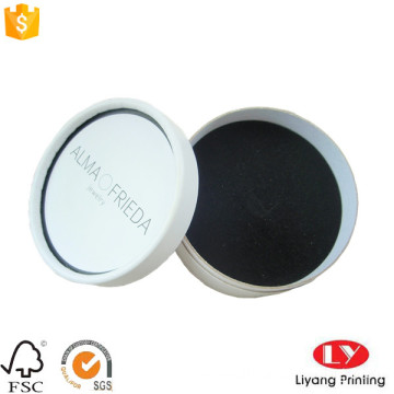 Jewelry packaging round box with insert
