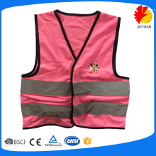 kids reflective safety vest with logo