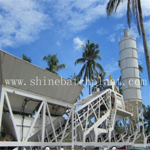 High Efficiency 60 Mobile Concrete Plant